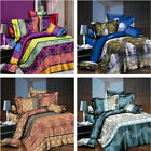 Life Style Home Duvet Cover Set 3D Print Bedding Pillow Case Sheet Double GQ