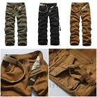 Stylish Men Male Military Army Combat Work Camo Cargo Pants Causual Trousers New