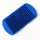 New 160 Ice Cubes Frozen Cube Bar Pudding Silicone Tray Mould Tool Easy DIY Hot