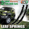 PAIR Front 90mm EFS RAISED LEAF SPRING for FORD F250 2WD 4WD V8 DIESEL 2000 ON