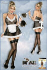 New Sexy-Lingerie SHEER CHAMBER MAID COSTUME 5pcs Sm/Med or LG/XL FREE SHIPPING!