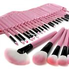 32Pcs Wood Makeup Brushes Professional Cosmetic Make Up Set with Pouch Bag Case