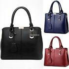 Women Leather Handbag Shoulder Cross Body Bag Tote Messenger Satchel Purse N98B