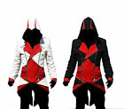 New Fashion Creed Hoodie Men's Cosplay For Assassins Jacket Coat Anime Costume