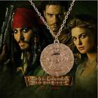 fashion necklace Pirates of the Caribbean Aztec Coin pendant