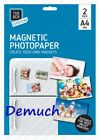 A4 MAGNETIC PHOTO PAPER Printing Inkjet Gloss Create Printable Fridge Magnet UK✔
