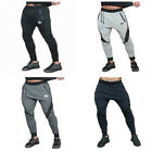 New Muscle brothers gym shark men fitness cultivate one's morality casual pants