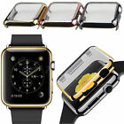 Electroplate Metal Hard Case Protective Cover For iWatch Apple Watch 38mm / 42mm
