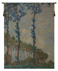 Claude Monet Trees Belgian Woven Decor Wall Hanging Tapestry