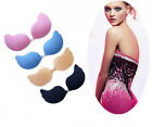 NEW Polyolefin Gel Bust Self-Adhesive Push-up Strapless Invisible fly V Bra