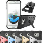 Heavy Duty Shockproof Hybrid Armor Rugged Rubber Hard Case Cover Stand For Phone