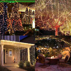 10/20M 200LED Copper Wire String Fairy Lights Xmas Party &Remote& Power Adapter