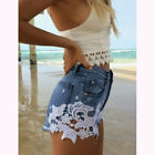 Fashion Women's Summer Ripped Womens High Waisted Denim Shorts Jeans Hot Pants