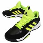 adidas Electrify Low Black Yellow Mens Basketball Shoes Sneakers D69667