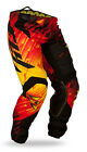 FLY Racing Kinetic Glitch 2015 Mens MX/Offroad Pants Red/Black/Yellow