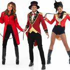 Circus Ringmaster Costume – Mens Womens Fancy Dress Carnival Ring Master Outfit