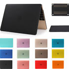"Matte Rubberized Back Hard Case Cover For Macbook Air Pro Retina 11"" 12"" 13"" 15"""