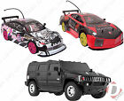 Large Radio Control Racing Drift Car - Remote Control RC Hummer - Real Lights!