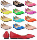 Girls Women's Office Lady Work Party Flat Shoes Flats Pointed Toe Pumps Oxfords