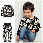 toddlers tracksuits - 2pcs Toddler Kids Baby Boys Mickey Mouse Sport Tracksuits Outfit Clothing Sets
