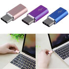 2x Aluminium USB 3.1 Type C Male Connector To Micro USB Female Converter Adapter
