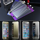 Mirror Effect Color Tempered Glass Screen Front Back Protector Fr iphone 6 6plus