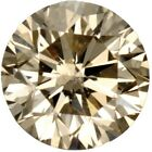 Natural Fine Light Brown Diamond - Round - SI3-I1 - Africa - Select Grade
