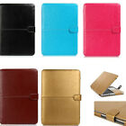 "Full PU Leather Protective Case Cover For MacBook Air Pro Retina 11"" 12"" 13"" 15"""