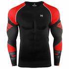 ZIPRAVS Mens Tight Tops Womens Compression Base Layer Shirts Fitness gym S~3XL