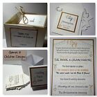 VINTAGE RUSTIC ROMANCE wedding : GAMES & CHILDREN; 4 designs;60 colours/any qty