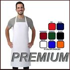 2 NEW PREMIUM PROFESSIONAL BIB APRON KITCHEN SUPPLIES CHEFS BARISTA COOK CRAFT