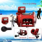 12BB Trolling Reel Saltwater Sea Fishing Conventional Reels Right Hand Drum ACL
