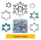 Shaped COOKIE CUTTERS - Christmas Snowflake - Baking Cake Biscuit Sandwich Toast