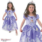 FANCY DRESS COSTUME ~ GIRLS DISNEY PRINCESS DELUXE SOFIA SOPHIA AGE 2-6 YEARS