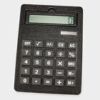 Solar Powered Oversized Crystal Rhinestone Bling Calculator School Office Math