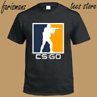 counter strike new game - New Counter Strike Online Game CS:GO Logo Men's Black T-Shirt Size S to 3XL