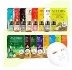 Malie Korean Essence Facial Mask Sheet Pack Moisture Skin Care Various Package