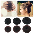 Women Girls Sponge Hair Bun Maker Ring Donut Shape Hairband Styler Tool SW