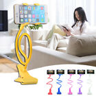 360º Universal Lazy Bed Desktop Car Stand Mount Holder For Cell Phone Long Arm