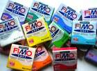 staedler job lot fimo 12 assorted x soft , effect , classic . 56 / 57  gram mixd