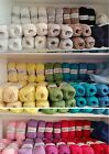 Wendy Supreme Luxury 100% Cotton Yarn 100g Ball- Choice Of 21 Colours FREE POST
