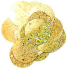 Craft Factory Gold Hologram Sparkles 20mm, 7g approx