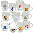 Official Football Club - Glass TANKARD (Pint/Beer Glass) (Drink/Bar/Gift)