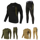 New Men's WARM Thermal Underwear Tops Long Johns Leggings Pants Quick Dry 2PCS