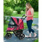 NoZip AT3 Pet Stroller Zipperless Entry New All Dog Cat Terrain Weather Cover