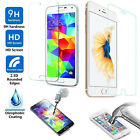 2 X 9H+ Tempered Glass Screen Protector For Apple iPhone Samsung LG HTC models