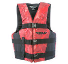 FLY Racing Adult Vest Life Vest Black/Red
