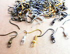 Wholesale DIY JEWELRY Making Findings 100PCS/500PCS Earring Hook Coil Ear Wire