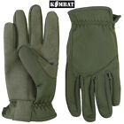 Military Delta Fast Gloves Tactical Thermal Work Airsoft Green Army Surplus New