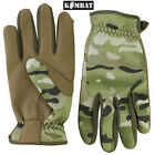 Military Delta Fast Gloves Tactical Thermal Airsoft BTP Camo Army Surplus New